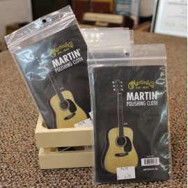 Martin Logo Polishing Cloth