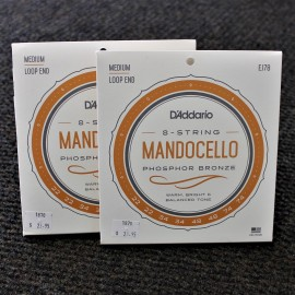 Mandocello strings by D'Addario