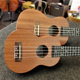Twisted Wood Sapele Ukulele